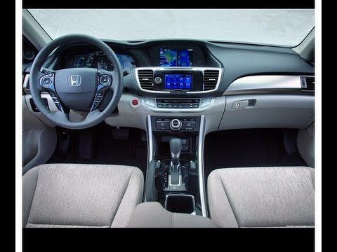 2014 Honda Accord Plugin Hybrid POV test drive