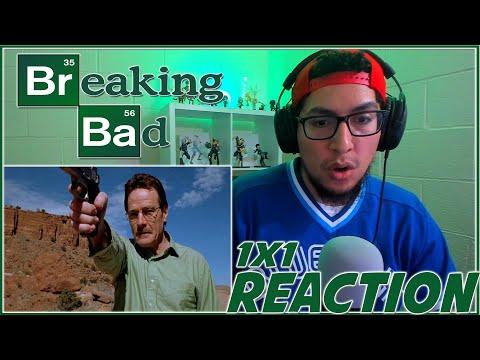 "Breaking Bad REACTION Season 1 Episode 1 ""Pilot"" 1x1 Reaction!!!"