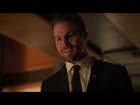 Arrow 5x05 Oliver gets Shot  faked his Death
