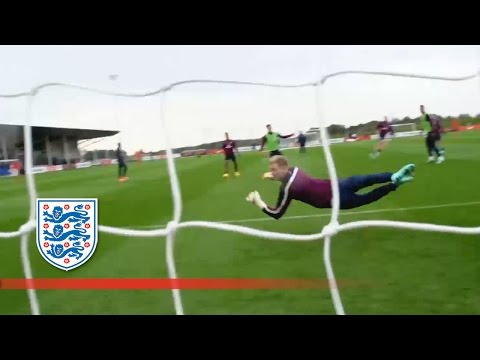 Henderson Scores Stunning Goal In England Training