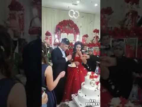Odstawił taki numer na własnym weselu, że aż go rodzina uspokajała