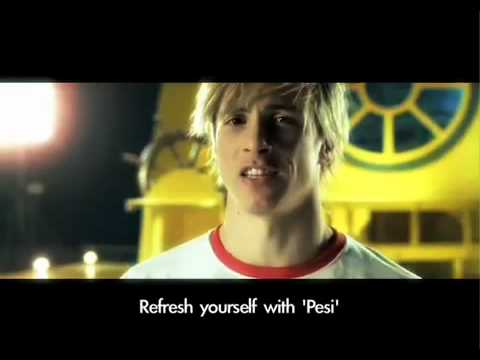 Official Fernando Torres Pepsi TV Commerical