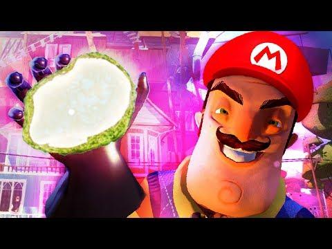 SUPER MARIO NEIGHBOR!! MARIO IN HELLO NEIGHBOR!? - Hello Neighbor Mod Kit Beta 3 (видео)