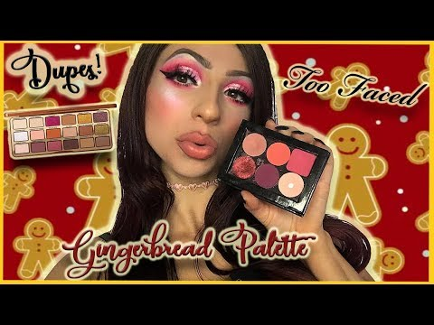 TOO FACED GINGERBREAD SPICE PALETTE | Dupes In My Collection!