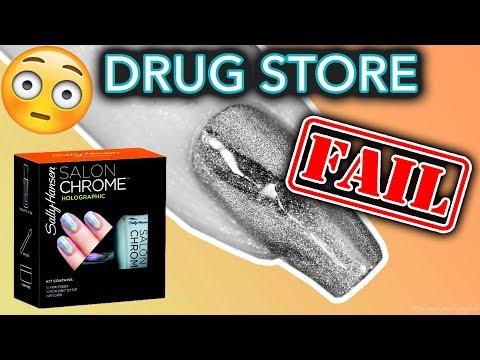 Drug Store Nail Powders FAIL (what the Sally Hansen?!)