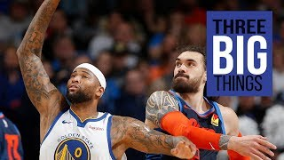 3 Big Things: Warriors deliver one of their best games against Thunder