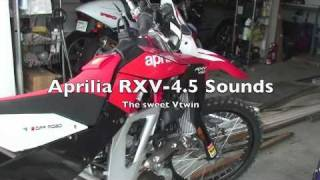 4. New 2009 Aprilia RXV 450 1st ride