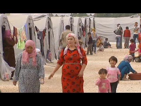 Berlin'de Suriyeli sığınmacıların durumu görüşüldü