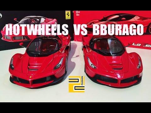 Ferrari laferrari bburago снимок