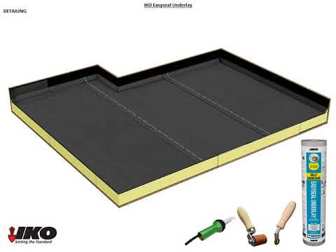 How to install our Self-Adhesive Roofing Felt – IKO Easyseal
