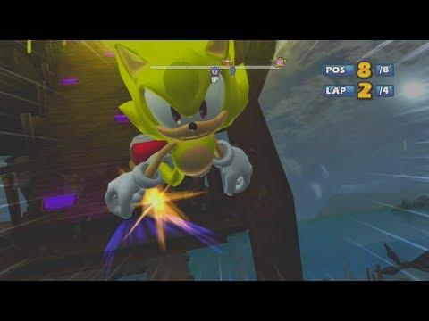 Sonic & Sega all Star Racing  All-Star Moves