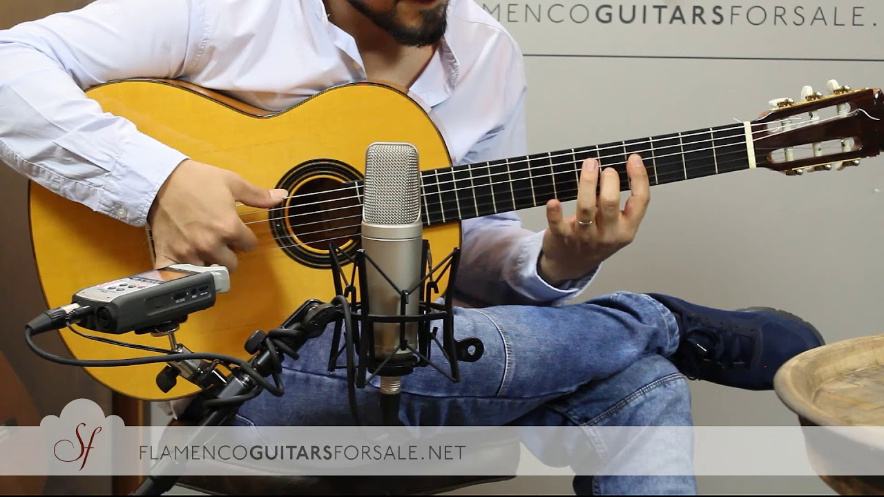 VIDEO TEST: Félix Manzanero 2002 flamenco guitar for sale