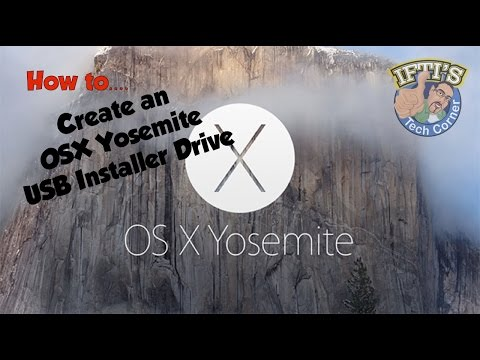 how to create os x bootable usb