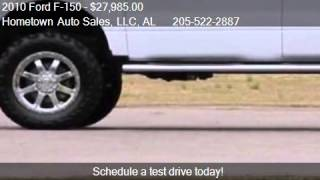 2010 Ford F-150 SUPERCREW FX4 4X4 for sale in Jasper, AL 355