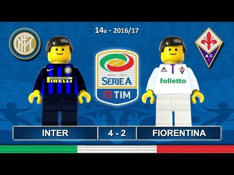 Inter vs Fiorentina 4-2 • Italian Serie A 2016/17 ( Film Lego Calcio ) Goals Highlights 28/11/2016