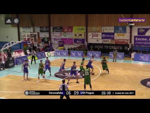ANGT Coin: U18 Darussafaka Dogus Istanbul vs. U18 USK Future Stars Prague - Full Game