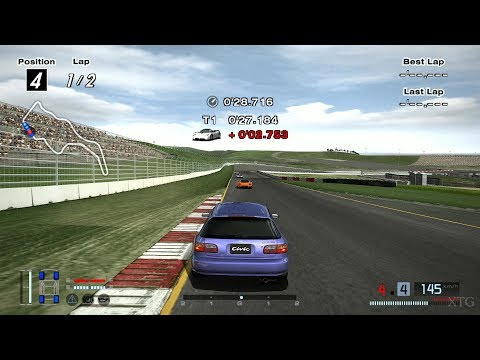 Gran Turismo 4 - Honda CIVIC SiR-II (EG) '95 (HYBRiD) PS2 Gameplay HD
