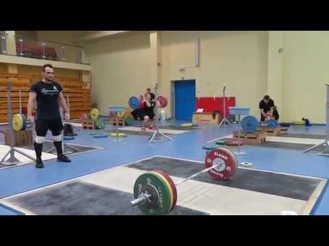 Тренировка Ильи Ильина