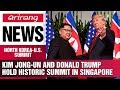 un and Donald Trump hold historic summit in Singapore