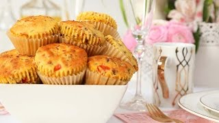 Cornbread Muffins | Brunch Month by The Domestic Geek