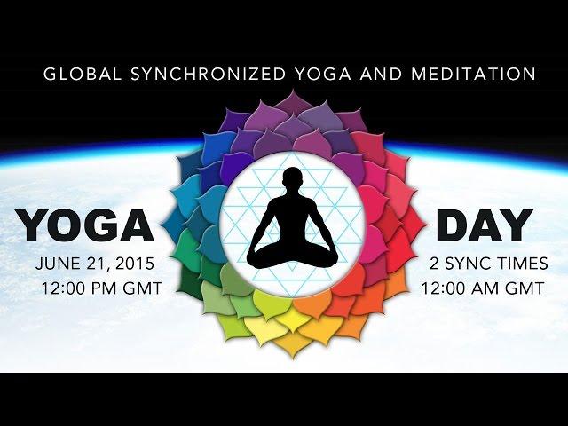 1η Παγκόσμια Ημέρα Γιόγκα - 21 Ιουνίου 2015