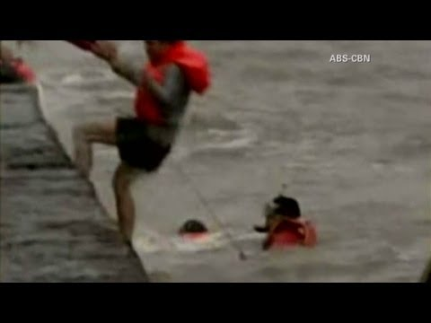 Rescues in the Philippines