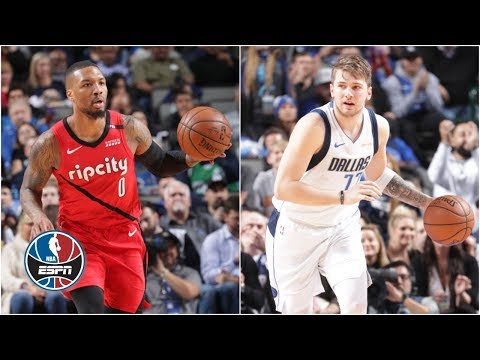 Video: Luka Doncic and Damian Lillard duel in Mavericks' win vs. Trail Blazers   NBA Highlights