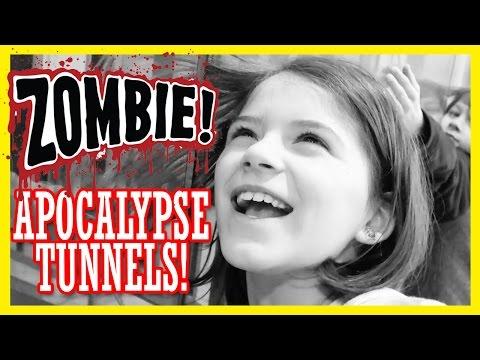 ZOMBIE APOCALYPSE TUNNELS!  |  CHICAGO PEDWAY  |  KITTIESMAMA