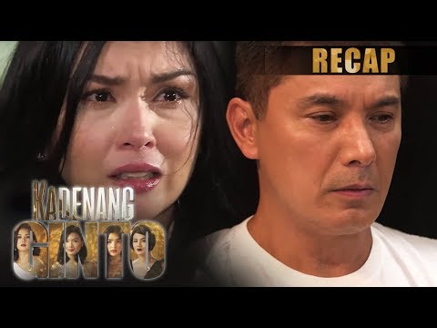 Romina learns the truth about Robert | Kadenang Ginto Recap (With Eng Subs)