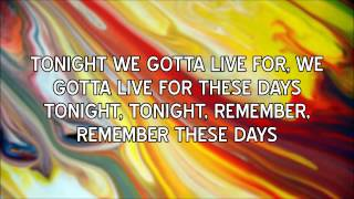 Take That - These Days (lyrics)