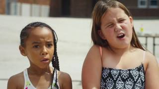 Mylee and Elle are featured in a spot for Soapbox
