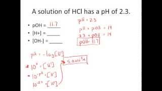 Video Given pH & pOH, Solve for [H+] & [OH-] Practice Problems MP3, 3GP, MP4, WEBM, AVI, FLV Juli 2018