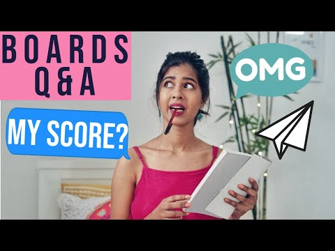 My 12th Boards Score? How I Prepared? | Sejal Kumar
