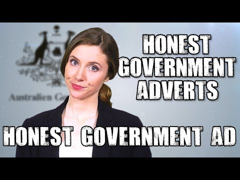 Honest Government Advert | War on Satire