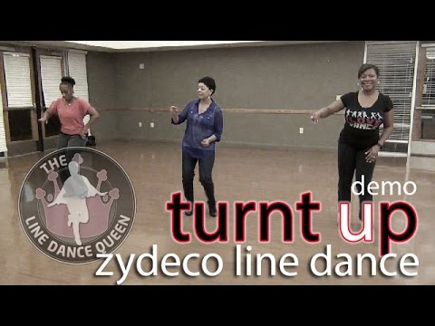 TurntUp Zydeco Line Dance (Demo) w/ Loud by Chris Ardoin