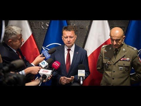 Rozwijamy zdolności obronne naszego kraju - briefing ministra M. Błaszczaka