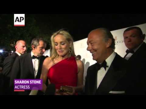 Sharon - Swiss jewelry designer De Grisogono celebrated the brand's 20th anniversary with a glamorous party in Cannes. Among the attendees were Paris Hilton, Sharon S...