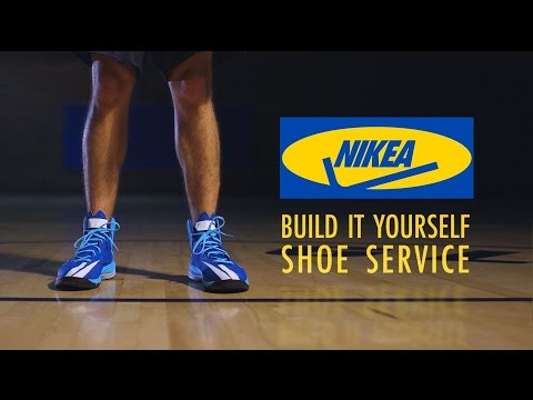 Build Your Own Shoes with NIKEA