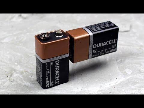 2 Truques para fazer com uma pilha - bateria