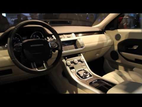 Range Rover Evoque 5-Door Live Reveal - LA Motor Show 2010
