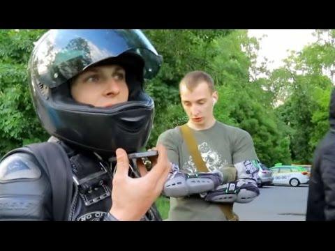 СтопХамСПб - Наглый мотоциклист - DomaVideo.Ru