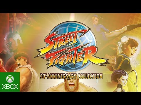 Street Fighter 30th Anniversary Collection - Announcement Trailer (видео)