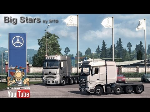 Big Stars – Actros/Arocs SLT v1.1
