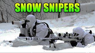 Squad Up - Snow Sniper Team Extreme | Battlefield 4 Teamwork Gameplay