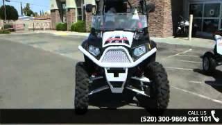 9. 2012 Polaris Ranger RZR 4 800 EPS Black/White/Red RG LE  ...