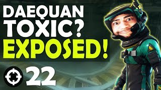 DAEQUAN TOXIC EXPOSED? | VS DUOS HIGH KILL FUNNY GAME FT. YANNI - (Fortnite Battle Royale)