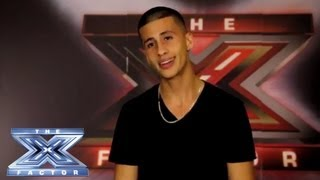 Yes, I Made It! Carlito Olivero - THE X FACTOR USA 2013