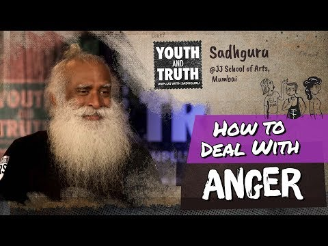 How to Deal With Anger - Sadhguru