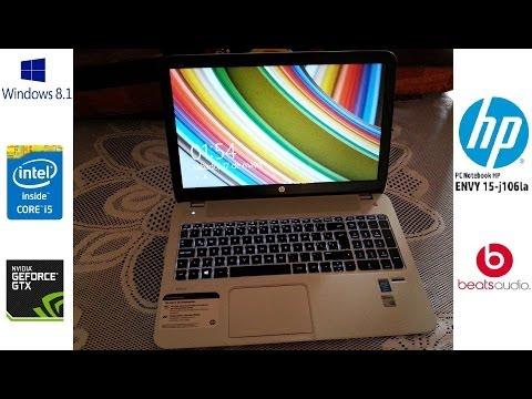 Laptop HP ENVY 15 J106LA (Unboxing) [1/2]