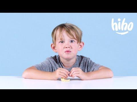 Kids Try Miracle Berries